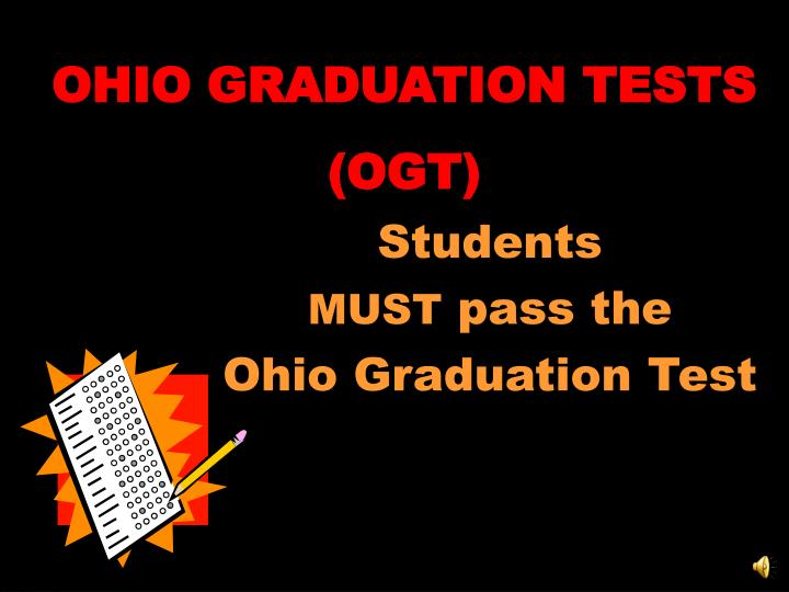 OHIO GRADUATION TESTS