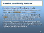 classical conditioning addiction