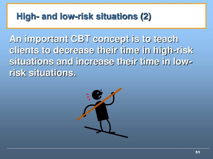 High- and low-risk situations (2)