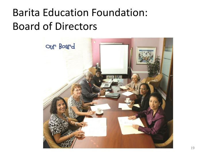 Barita Education Foundation:
