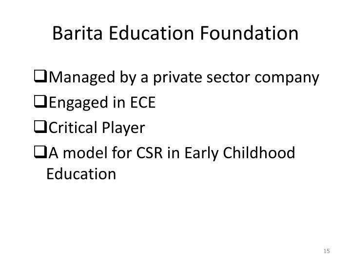 Barita Education Foundation