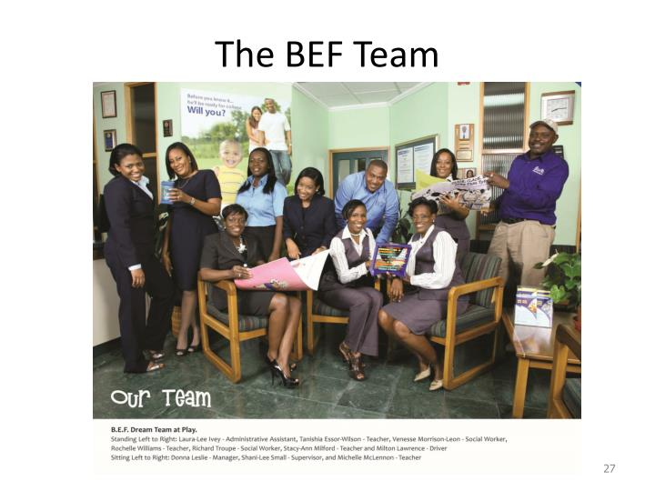The BEF Team