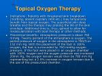 cbc topical oxygen therapy