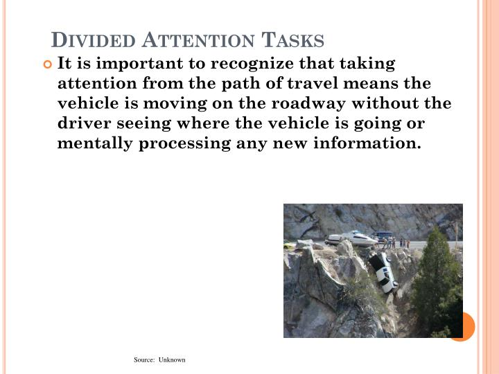Divided Attention Tasks