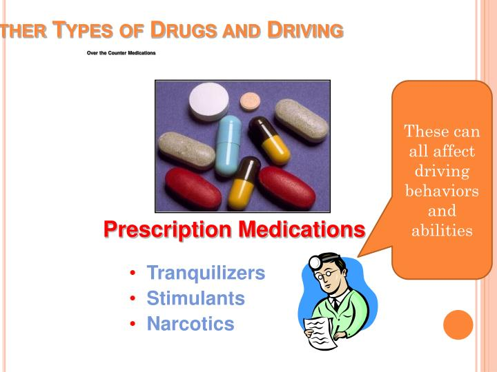 Other Types of Drugs and Driving