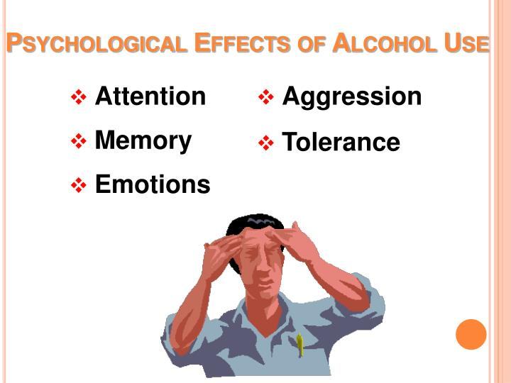 Psychological Effects of Alcohol Use