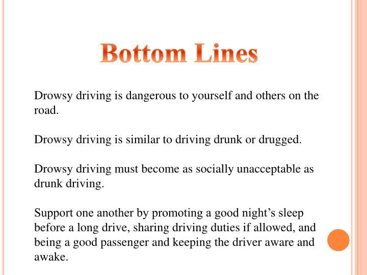 Bottom Lines