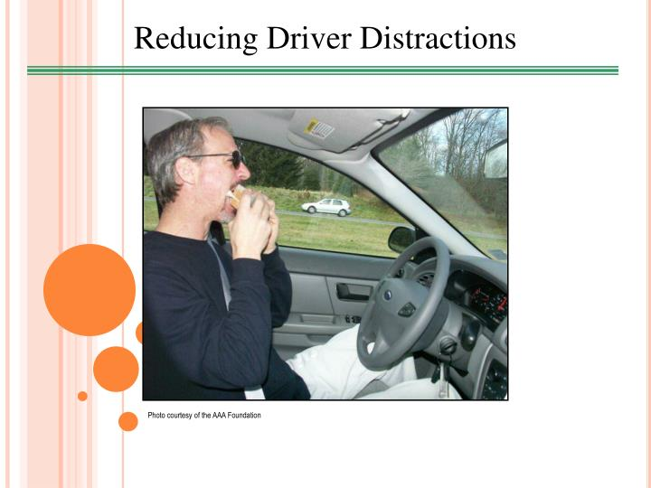 Reducing Driver Distractions