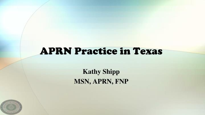 eliminating physician oversight for aprns in texas Eliminating restrictions on advanced practice when arizona removed the physician supervision of nurse lack of access to medical care in north carolina.