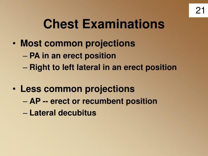 Chest Examinations