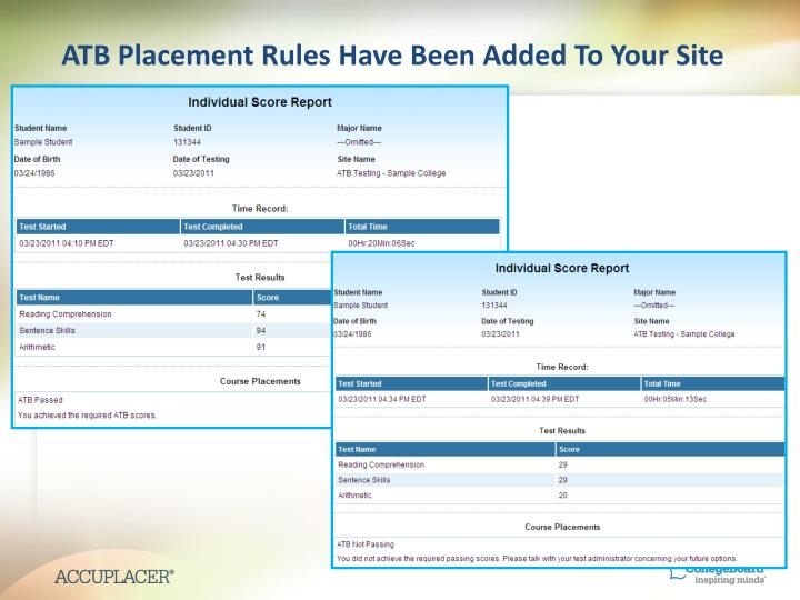 ATB Placement Rules Have Been Added To Your Site