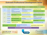 outreach professional development series