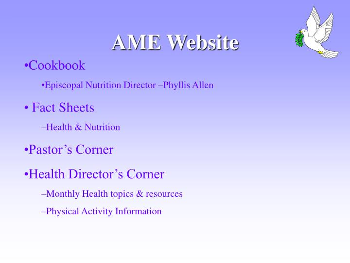 AME Website