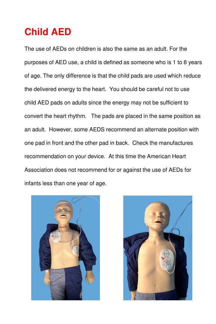 Child AED