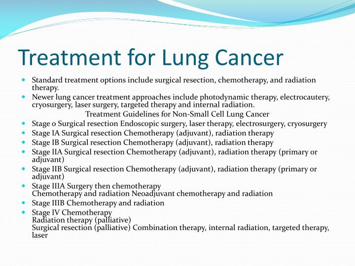ppt lung cancer powerpoint presentation id6678614