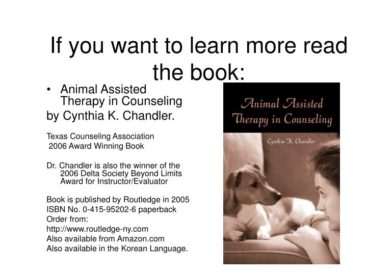 If you want to learn more read the book