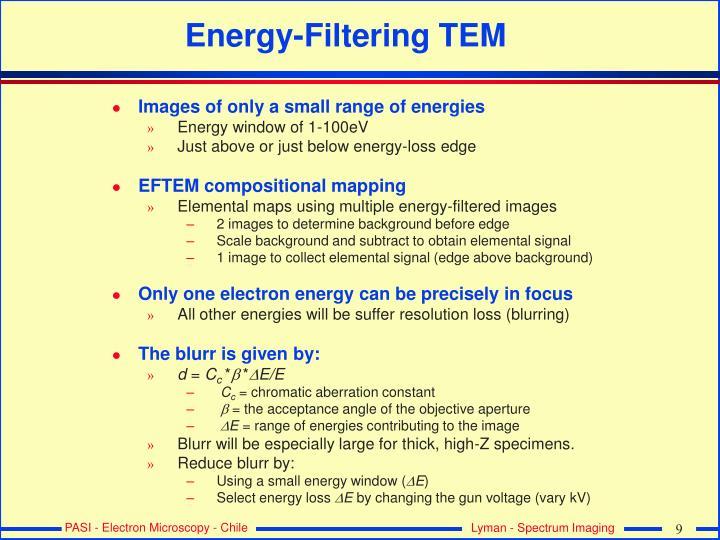 Energy-Filtering TEM