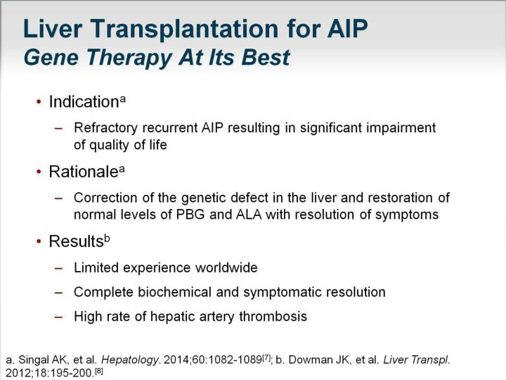 Liver Transplantation for AIP