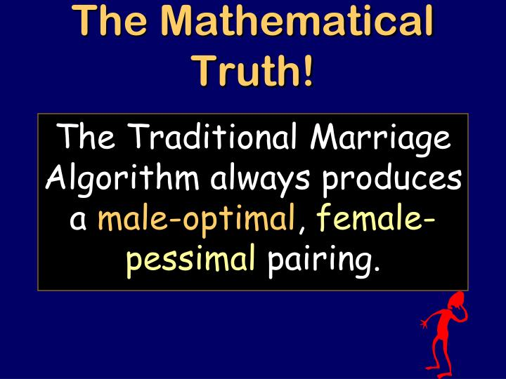 The Mathematical Truth!