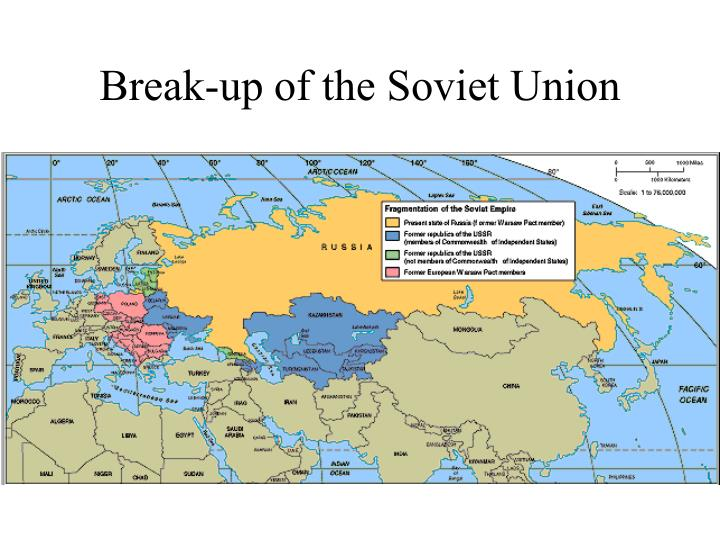 Break-up of the Soviet Union
