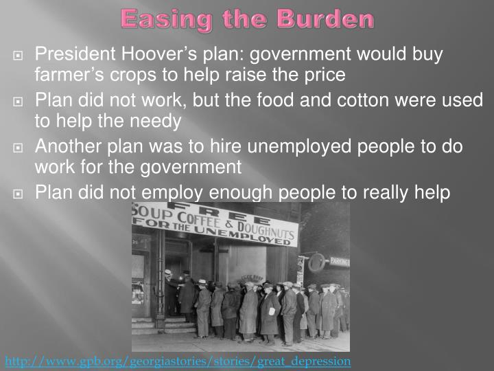 Easing the Burden