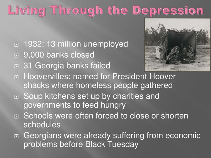 Living Through the Depression