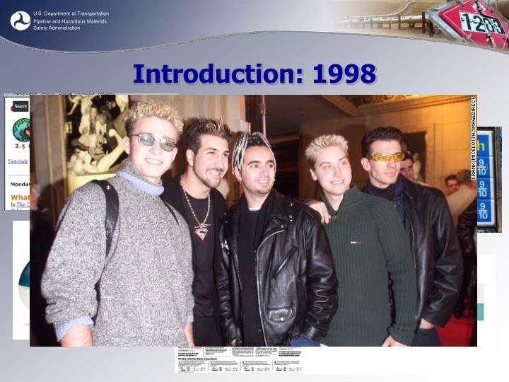 Introduction 1998