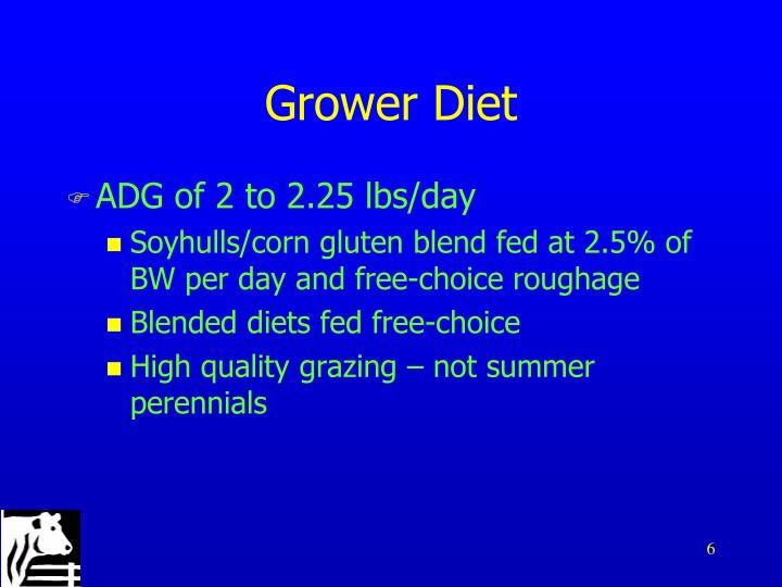 Grower Diet