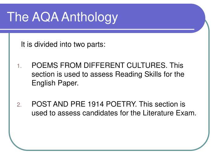 The AQA Anthology
