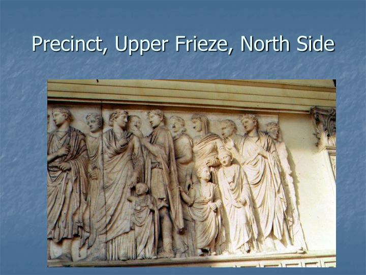 Precinct, Upper Frieze, North Side