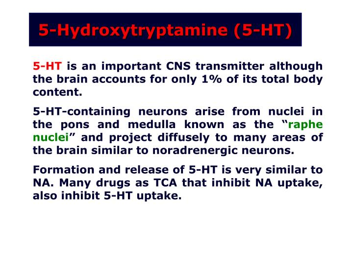 5-Hydroxytryptamine (5-HT)