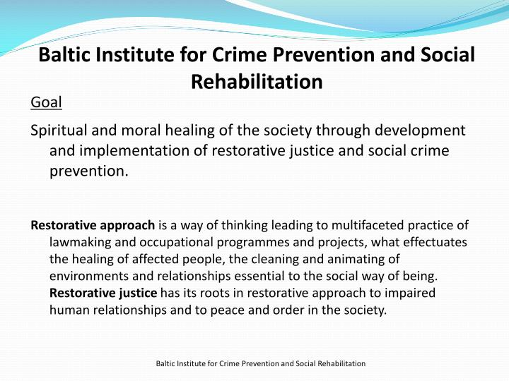 Baltic Institute for Crime Prevention and Social Rehabilitation
