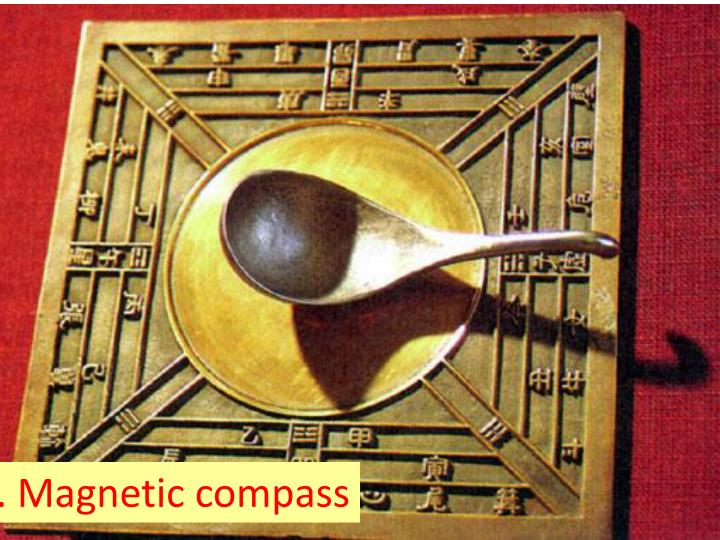 2. Magnetic compass