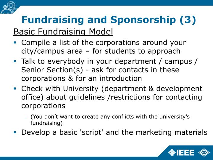 Fundraising and Sponsorship (3)