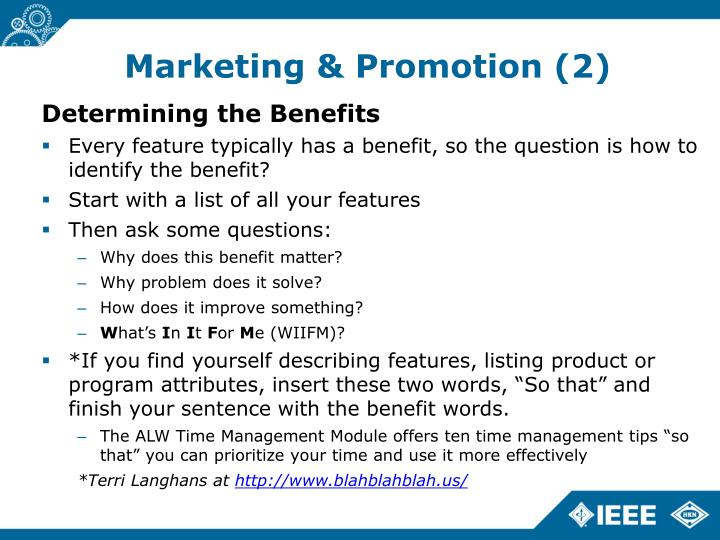 Marketing & Promotion (2)