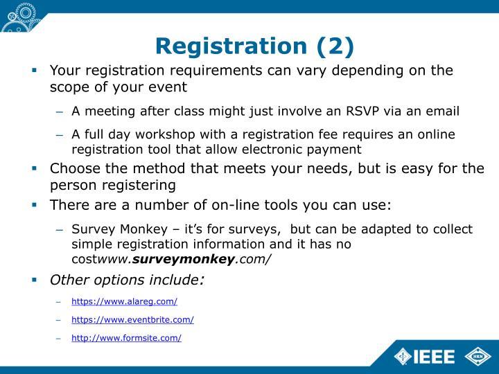Registration (2)