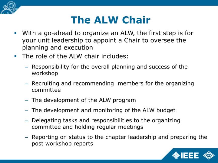 The ALW Chair