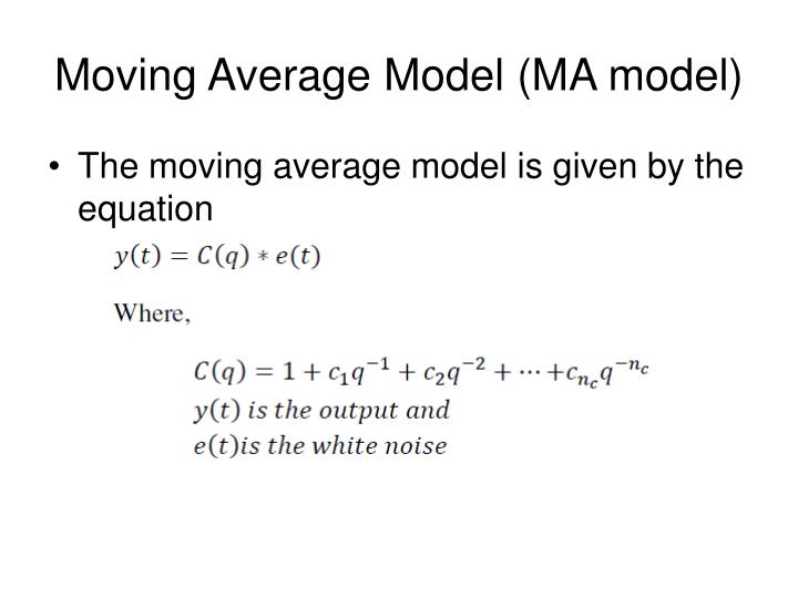 Moving Average Model (MA model)