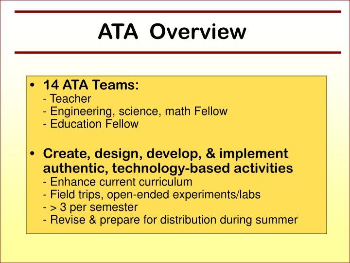 14 ATA Teams: