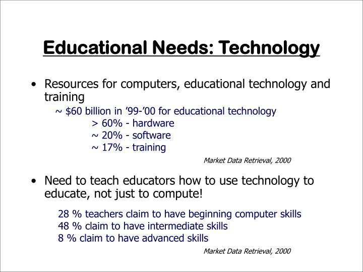 Educational Needs: Technology