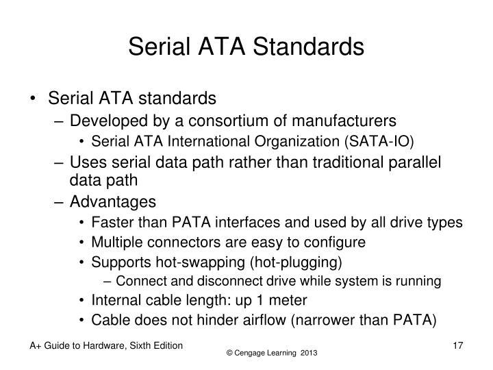 Serial ATA Standards
