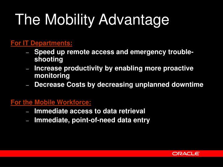 The Mobility Advantage