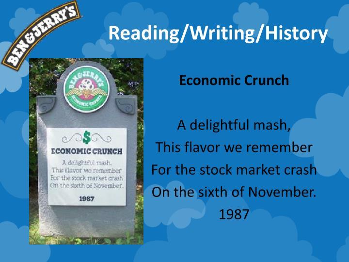 Reading/Writing/History