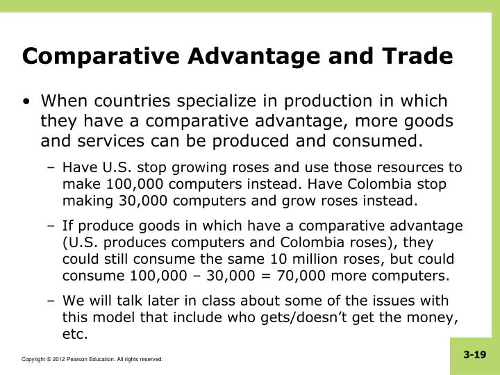 Comparative Advantage and Trade