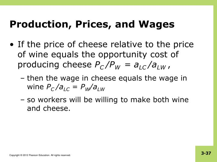 Production, Prices, and Wages