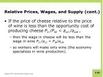 relative prices wages and supply cont1