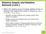 relative supply and relative demand cont1