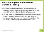 relative supply and relative demand cont5