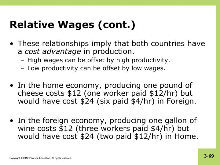 Relative Wages (cont.)
