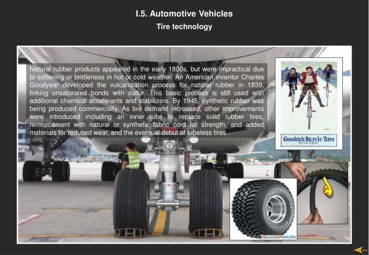I.5. Automotive Vehicles